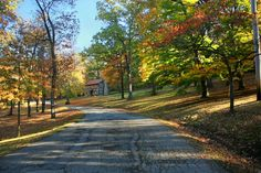 Log house at Washington Park, Dunn Avenue, Washington, Pennsylvania