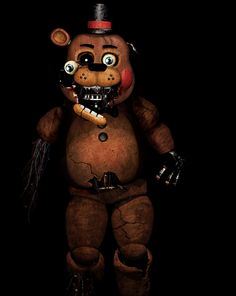 five+nights+at+freddy's | Five Nights at Freddy's [Withered Toy Freddy] by Christian2099