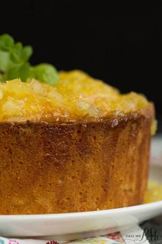 Pound Cake series. A taste of the tropics, two step pineapple pound cake, is super moist and exceptionally easy to make in just two steps.