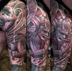 Sleeve Tattoo by Greg Nicholson