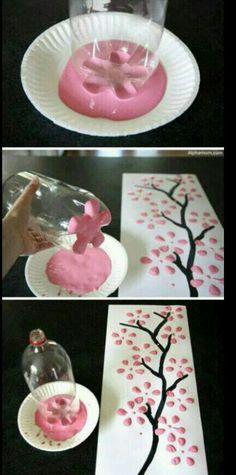 DIY Easy Japanese cherry blossom