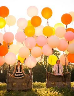 """""""up"""" inspired engagement photos"""