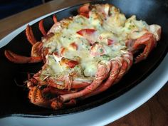 Cardero's Baked lobster! *drool*