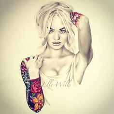 Pencil drawing by elle wills