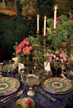 Wedding Themes Please Help! Opinions on Wedding theme/colors would be great! Wedding Themes, Wedding Decorations, Wedding Colors, Dresser La Table, Beautiful Table Settings, Midsummer Nights Dream, Elegant Table, Romantic Table, Partys