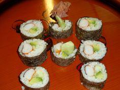 Recetas de Sushi. Rollito de sushi California