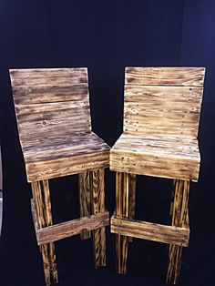 You are paying for 1 barstool. The finish can be different. Doesnt have to be burned. Just message me before you prefer otherwise you will get a similar product pictured. Each one is unique in its own way. Thanks for looking and happy shopping. LOCAL PICK UP ONLY PLEASE LOCATED IN CORONA, CA