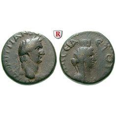 Römische Provinzialprägungen, Pontos, Amaseia, Domitianus, Bronze, ss: Pontos, Amaseia. Bronze 21 mm. Belorbeerter Kopf r. /… #coins