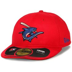 a05b57adf3f27 Clearwater Threshers New Era Low Crown Diamond Era Fitted Hat - Red. Major League  Baseball ...