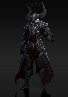 knight-Diablos, Poji Chow on ArtStation at https://www.artstation.com/artwork/knight-diablos