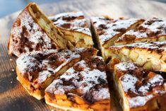 Ľahučký jablkový koláč s kokosom a čokoládou | Recepty.sk