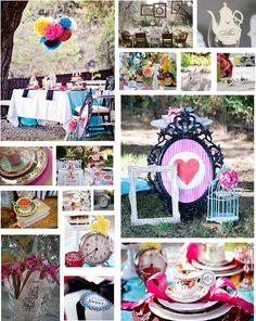 Alice crazy wedding decoration