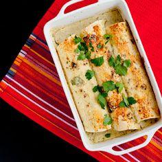 Green enchiladas