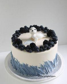 Cake Decorating, Shiro, Desserts, Cake Baby, Cakes, Pretty Birthday Cakes, Pretty Cakes, Flowers, Bebe