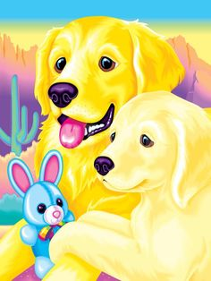 Casey And Caymus 93 Art Print By Lisa Frank At My Childhood