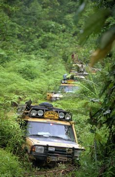 Camel Trophy, back in the day when Land Rover was a Real 4x4