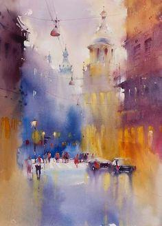 Watercolor By Viktoria Prischedko