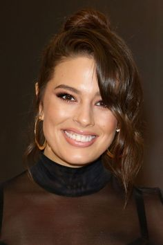 "[link url=""http://www.glamourmagazine.co.uk/person/ashley-graham""]Ashley Graham[/link]'s relaxed updo is giving us all the noughties feels. We're loving how easy this is to recreate."