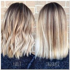 Short Hair Lengths, Short Hair Cuts, Short Hair Styles, Short Straight Hairstyles, Ombre Hair Color, Hair Color Balayage, Blonde Color, Balayage Straight Hair, Blonde Balayage On Brown Hair