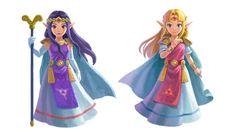 Nuevo trailer e ilustraciones de The Legend of Zelda: A Link Between Worlds | Colemono