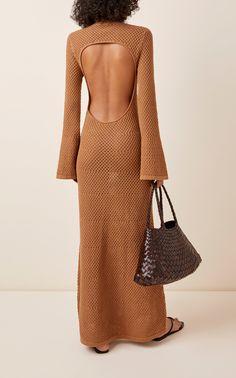 Knit Skirt, Knit Dress, Crochet Summer Dresses, Crochet Fashion, Crochet Clothes, Crochet Outfits, Knitwear, Ideias Fashion, Casual Dresses