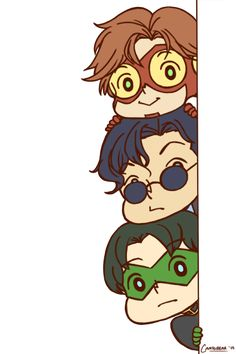 bart, kon, and tim taking a peek at your dash((they're transparent! ^q^))edit: fixed a few things that i didnt notice earlier and increased the width!
