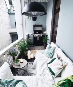 Small balcony ideas, balcony ideas apartment, cozy balcony design, outdoor balcony, balcony ideas on a budget Small Balcony Design, Small Balcony Garden, Small Balcony Decor, Small Terrace, Outdoor Balcony, Terrace Design, Balcony Grill, Small Balconies, Garden Design