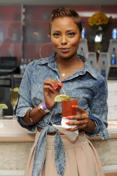 Image detail for -Eva Marcille looking cowgirl chic