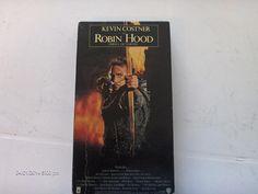 Classic 1991 Kevin Costner Robin Hood VHS