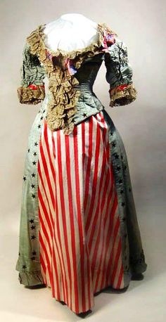 Victorian 4th of July Party Dress