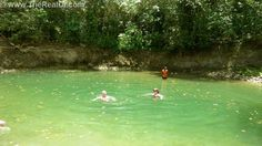 Swim in the rivers in the real Dominican Republic. All part of the fun http://www.therealdr.com