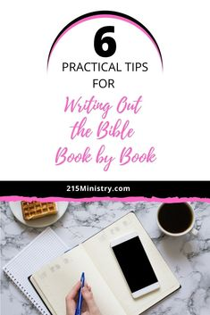 Writing out the Bible one book at a time may seem daunting but it can be done. Let me show you how with these practical tips for accomplishing this task. #writeouttheWord #writetheBible #biblewriting #scripturewriting #biblestudytips