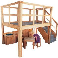 Strictly For Kids Mainstream School Age Navigator 2000 loft, 134w x 78d x 105h o