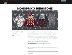 Collaboration MONOPRIX & HEIMSTONE
