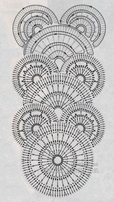Crochet Lace Edging, Crochet Leaves, Crochet Diy, Crochet Borders, Crochet Diagram, Freeform Crochet, Crochet Chart, Crochet Squares, Filet Crochet
