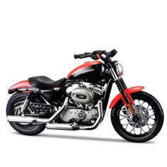 Miniatura Moto Harley-Davidson 2007 XL 1200N Nightster Maisto 1:18