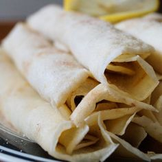 Tara's Multicultural Table: Pannekoek (South African Crepes with Cinnamon Sugar) South African Dishes, South African Recipes, Asian Recipes, Gourmet Recipes, Healthy Recipes, Ethnic Recipes, Asian Foods, Meal Recipes, Cake Recipes