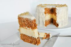 Sweet Fix: Cheese + Carrot Cake