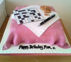 crossword cake images - Google Search