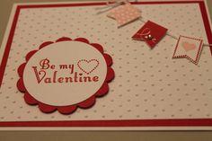 Stampin' Up SAB Banner Blast Valentine's Day Card http://CardsbyDeanna.stampinup.net