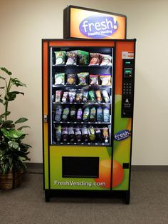 Healthy vending machine. Part of the hidden curriculum.