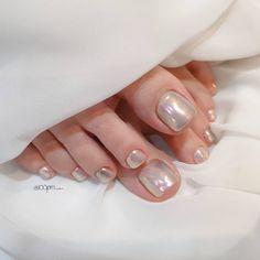 Gorgeous Nails, Pretty Nails, Hair And Nails, My Nails, Feet Nails, Minimalist Nails, Cute Nail Art, Square Nails, Glue On Nails