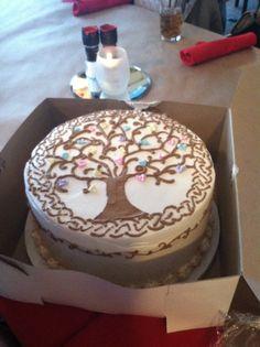 Tree of life inspired cake I got on my birthday!