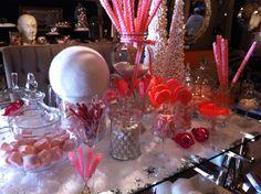 Holiday display at Lulu Pom.