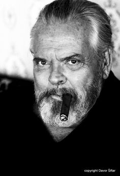 Orson Welles (1915-1985) Radio and film. Loved his voice.