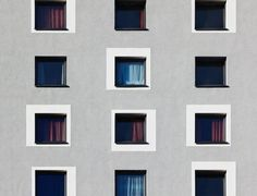 Social Housing, Facade House, Urban Planning, Architecture Details, Old And New, Facades, Buildings, Windows, Home Decor