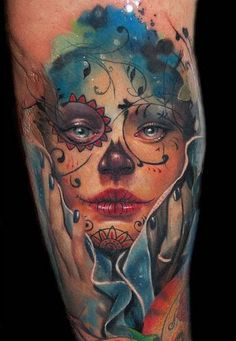 santa muerte tattoo - Google Search