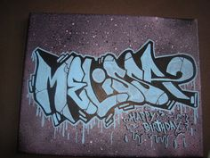 Graffiti Names, Graffiti Font, Melissa Name, Different Fonts, Bee, Letters, Instagram, Honey Bees, Different Writing Fonts