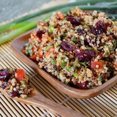 Lemon Cranberry Quinoa Salad Recipe