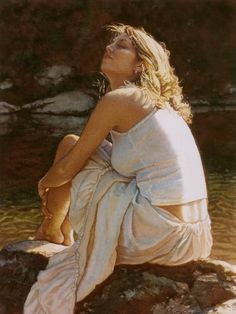 Steve Hanks-Steve Hanks is first and foremost a figure painter. His watercolor paintings are infused with emotion and a kind of poetry formed by light and shadow in his compositions